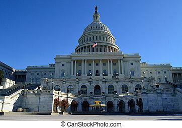 Congress - Capitol building in Washington USA