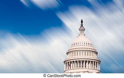 Congress capitol dome in Washington DC