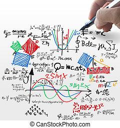 conhecido, fórmula, físico