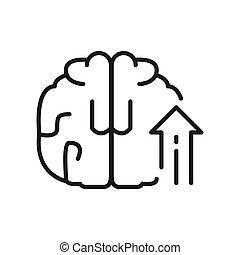 conhecimento, crescimento, ilustração, desenho