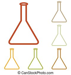 Conical Flask sign