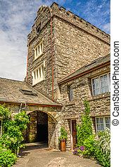 Conishead Priory near Ulverston, Cumbria.