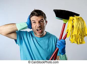Lavage service balai lavette conjugal ponge m nage accentu ou mari homme nettoyeur - Lavage tapis maison ...