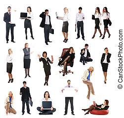 conjunto, de, empresarios