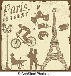 conjunto, de, francia