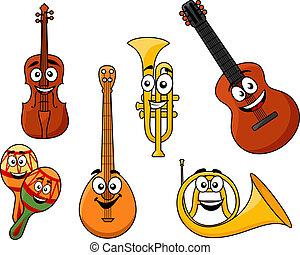 conjunto, de, instrumentos musicales