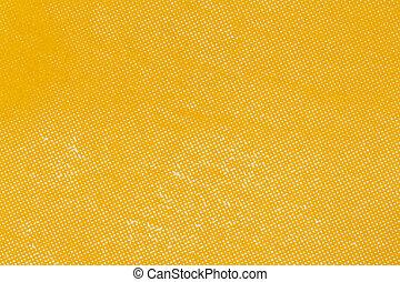 conjunto, de la apariencia, amarillo, papel, impresión