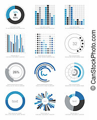 Conjunto, elementos,  infographics