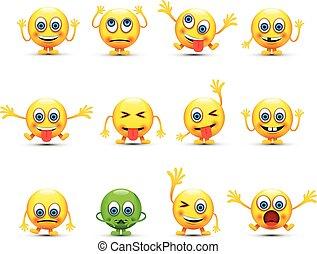 conjunto, emoji
