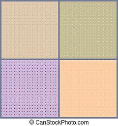 conjunto, guisantes, ilustración, vector, plano de fondo, pequeño