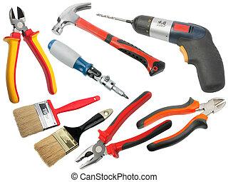 conjunto, hand-tools