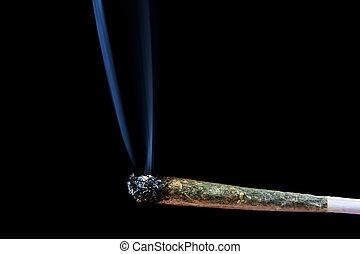conjunto, marijuana