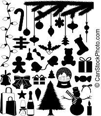 conjunto, navidad