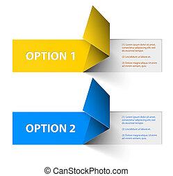 conjunto, opción, colorido, muestra, vector, pegatinas