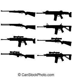 conjunto, rifle