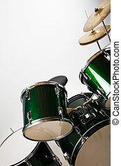 conjunto, tambor