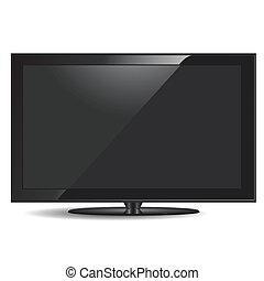 conjunto, televisión