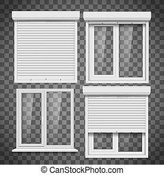 conjunto, windows, pvc