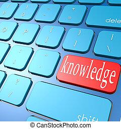 connaissance, clavier