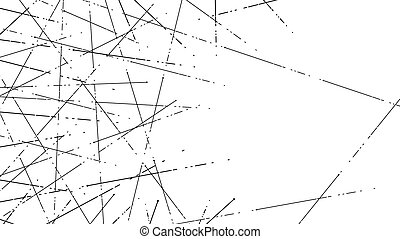 Connect dashed line texture abstract background