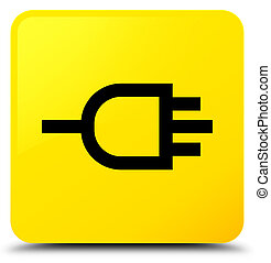 Connect icon yellow square button