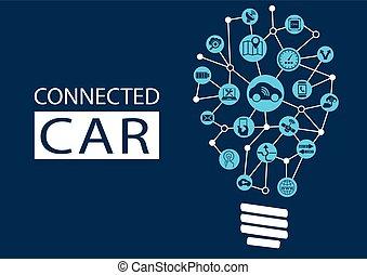 Connected autonomous car template