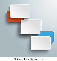 Connected Rectangles Two Options Infographic PiAd