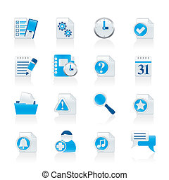 connectin, comunicación, organizador