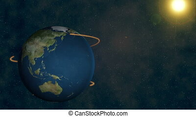 Connecting all over earth