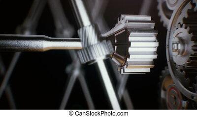 connecting, fogaskerék-áttétel