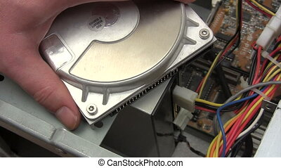 Connecting Hard Disk - Canon HV30. HD 16:9 1920 x 1080 @...