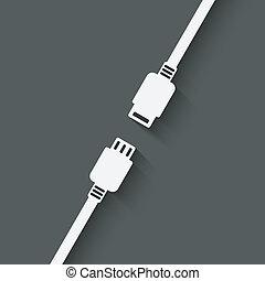 connection concept symbol