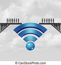connectivité, internet