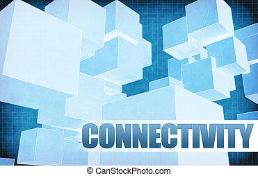 connectivité, résumé, futuriste