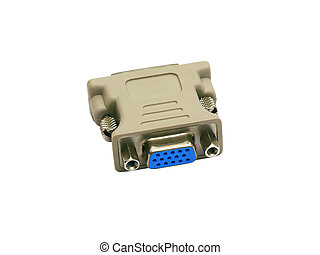 connector, computer monitor