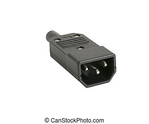 connector on a white background