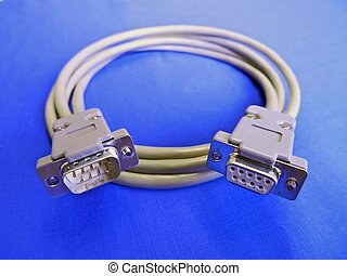 Connectors and cable for electrical interface.