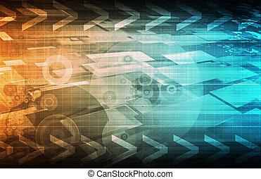 connettività, tecnologia