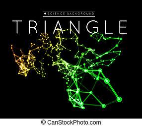 connexion, fond, résumé, réseau