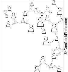 connexion, humain
