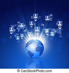 connexions, réseau