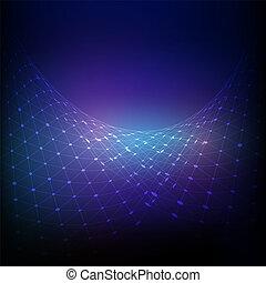 connexions, réseau, fond, 0209