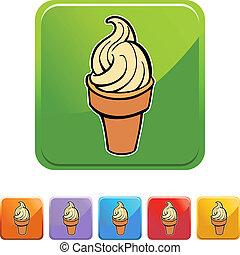cono, helado