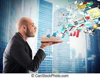 conocimiento, empresa / negocio