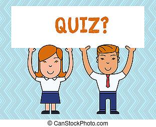 conoscenza, affari, foto, esposizione, question., concorrenza, quiz, nota, showcasing, individui, teams., fra, prova, scrittura, o