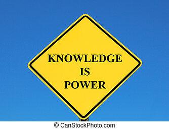 conoscenza, potere