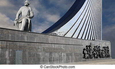 Conquerors of Space Monument,Moscow