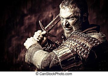 conquistador, homem