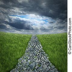 conquistando avversità
