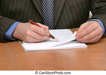 conract, signer